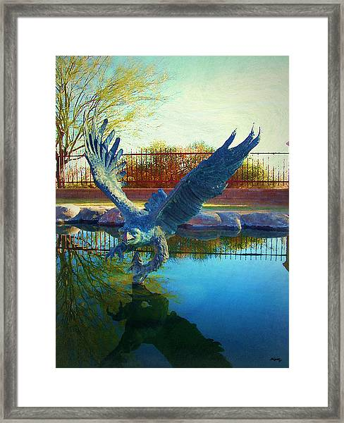 Strength Renewed Framed Print