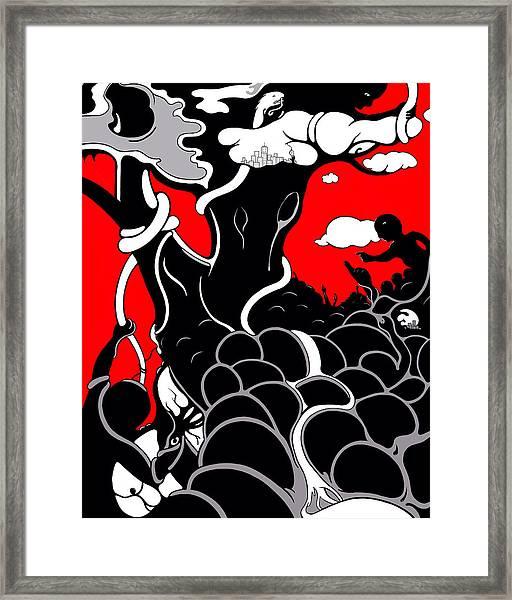 Strife Framed Print