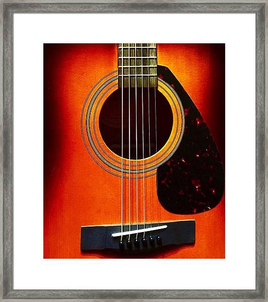 Strings  Framed Print