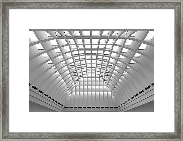 Structured Framed Print
