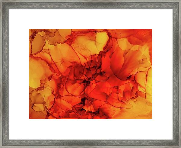 Struggling Heart Framed Print