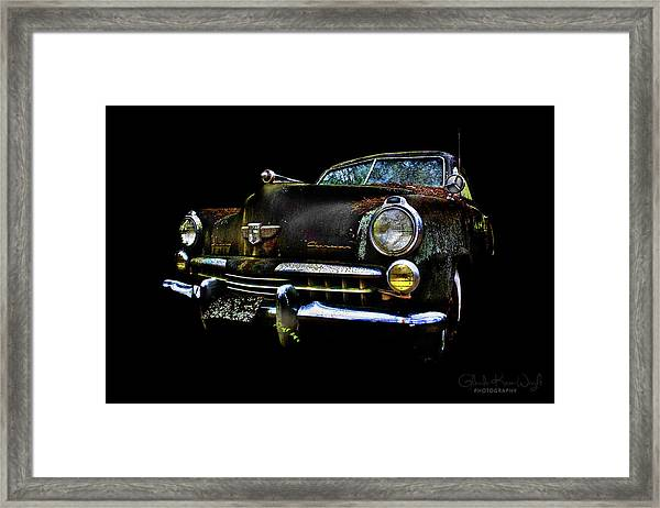 Framed Print featuring the photograph Studebaker by Glenda Wright