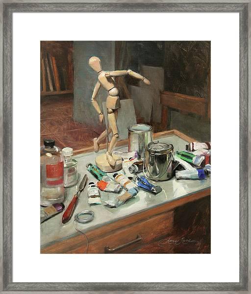 Studio Shenanigans Framed Print