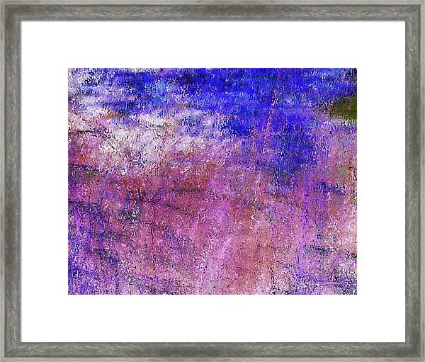 Study Of Brush Framed Print