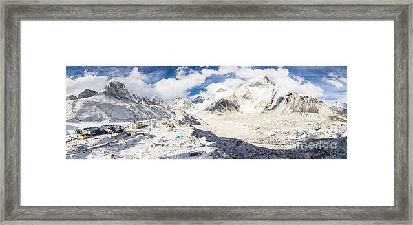 Stunning Nepal - Ebc Framed Print