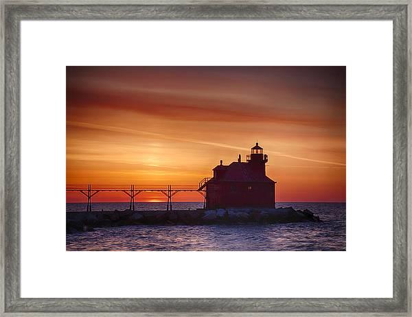 Sturgeon Bay 2 Framed Print