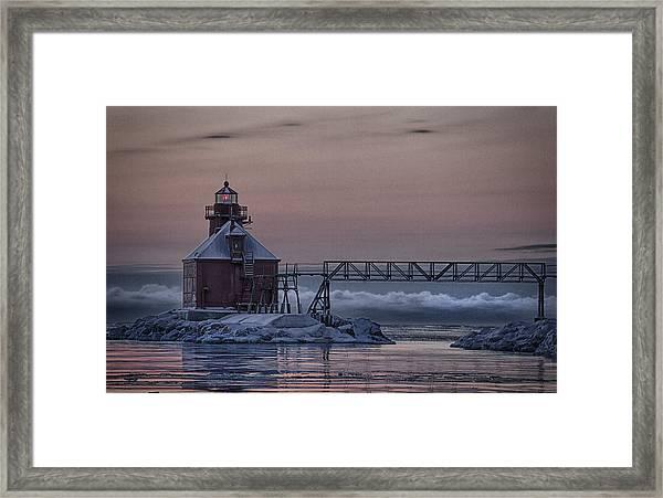 Sturgeon Bay 3 Framed Print