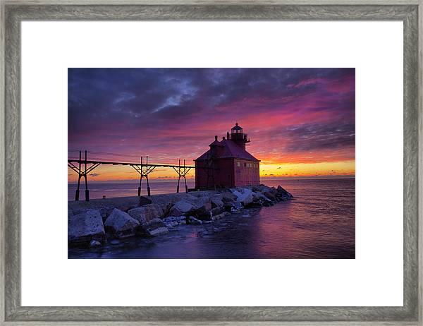 Sturgeon Bay 5 Framed Print