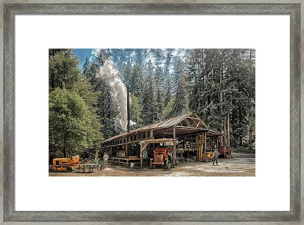 Framed Print featuring the photograph Sturgeon's Mill by Robert Rus