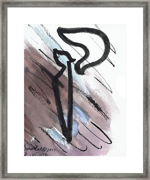 Stylish Kuf Ku6 Framed Print