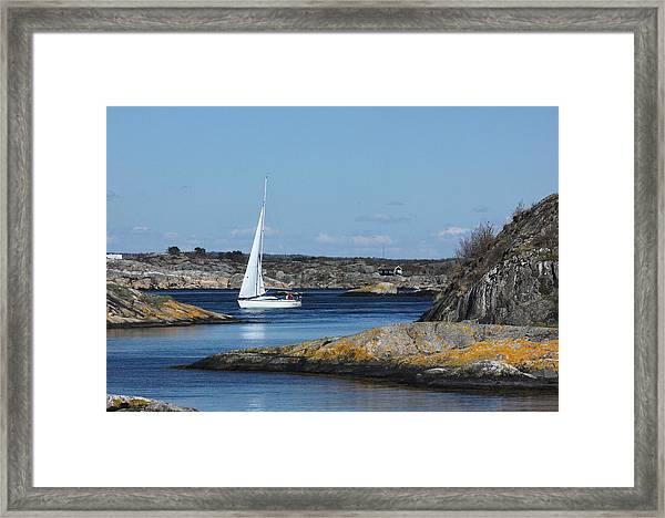Styrso, Sweden Framed Print
