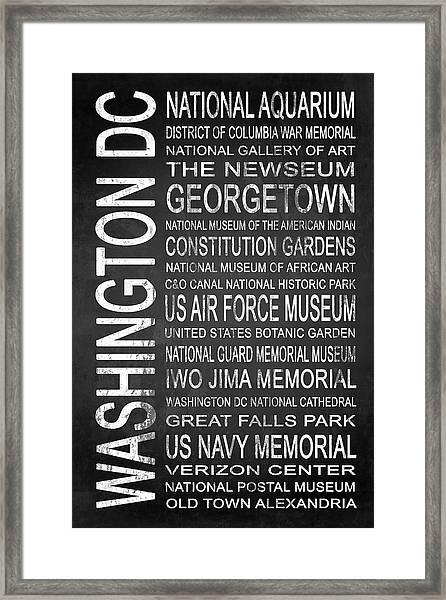 Subway Washington Dc 4 Framed Print