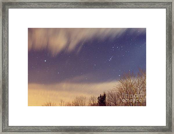 Sudden Clearing Framed Print
