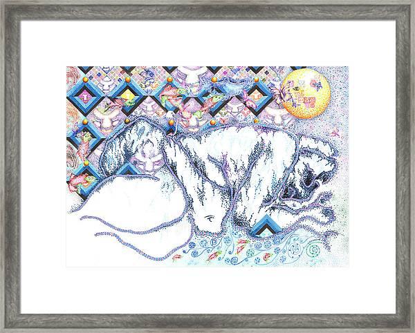 Suenos De Invierno Winter Dreams Framed Print