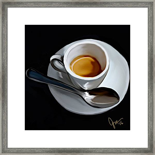Sugar And Cream Framed Print