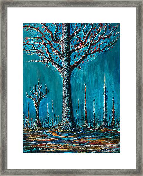 Sugar Tree Framed Print