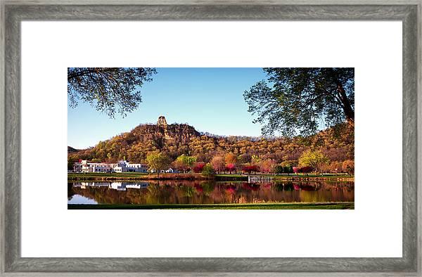 Sugarloaf Reflection Framed Print