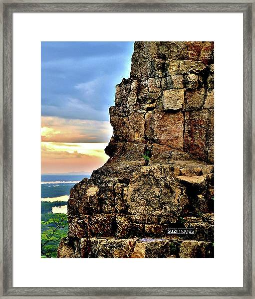 Sugarloaf Sunrise Framed Print