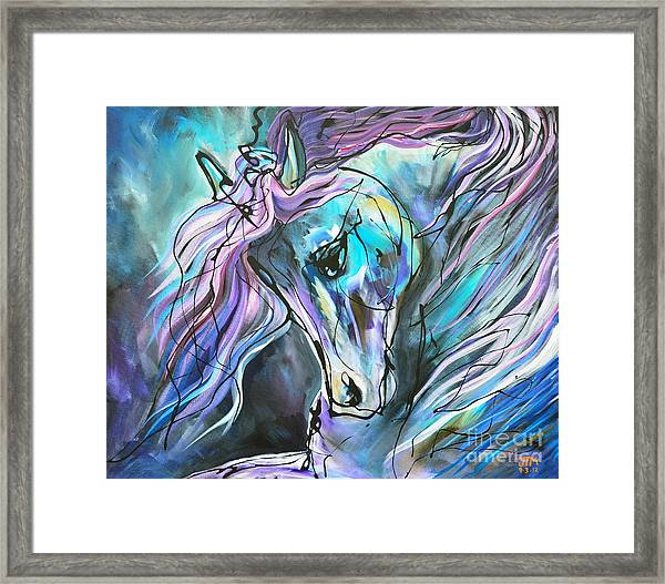 Suits Me To Swim Framed Print
