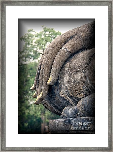 Sukhothai Buddha Framed Print