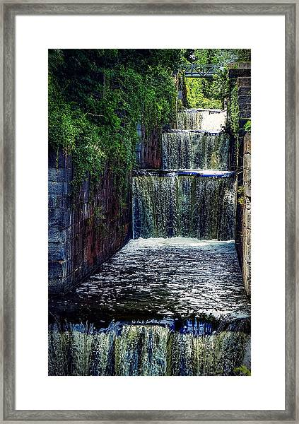 Summer At The Five Combines Framed Print