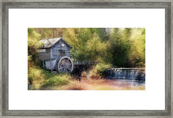 Summer At The Mill Framed Print