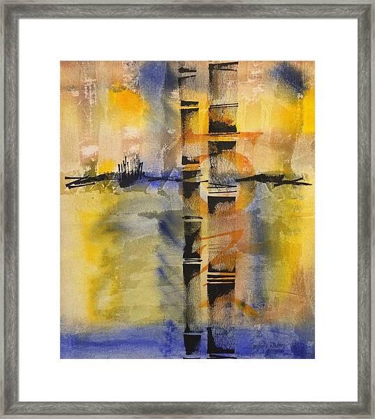 Summer Bamboo  Framed Print