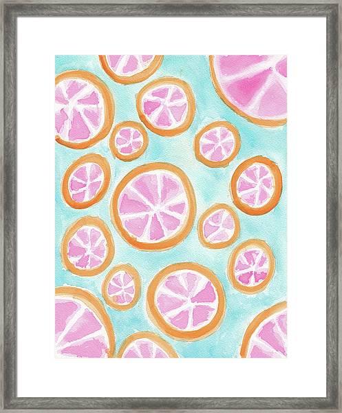 Summer Colors Framed Print
