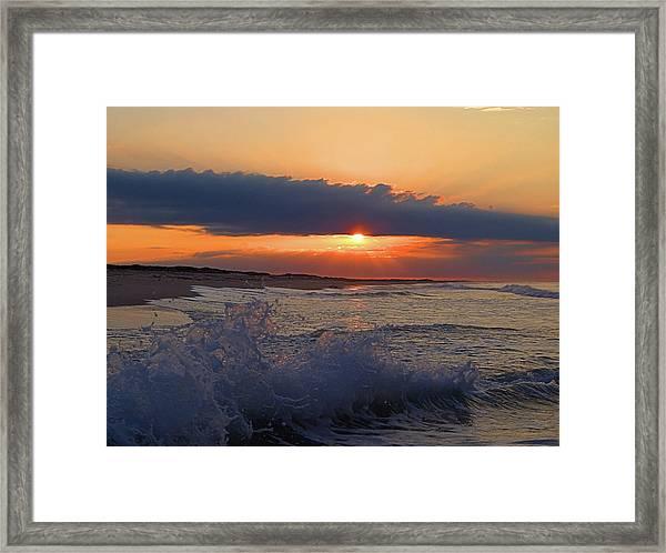Summer Dawn I I Framed Print