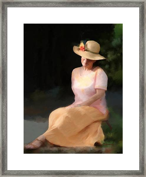 Summer Day Dreamer Framed Print by Carver Shivers