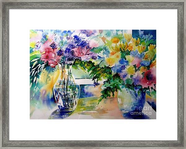 Summer Delight Framed Print