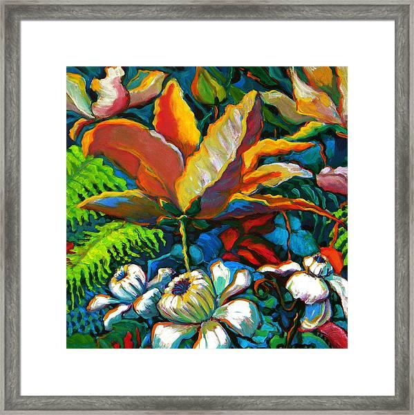 Summer Florals Framed Print