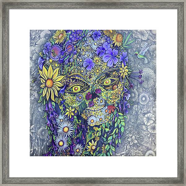 Summer Girl Framed Print