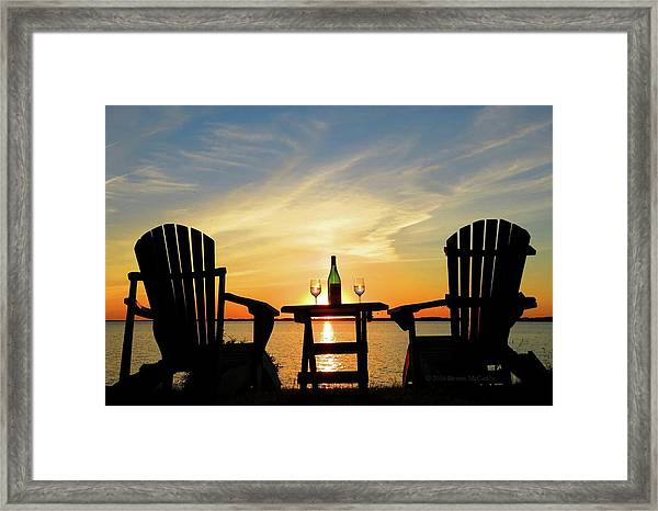 Summer In The River Framed Print