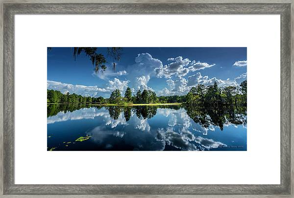 Summer Of Calm Framed Print
