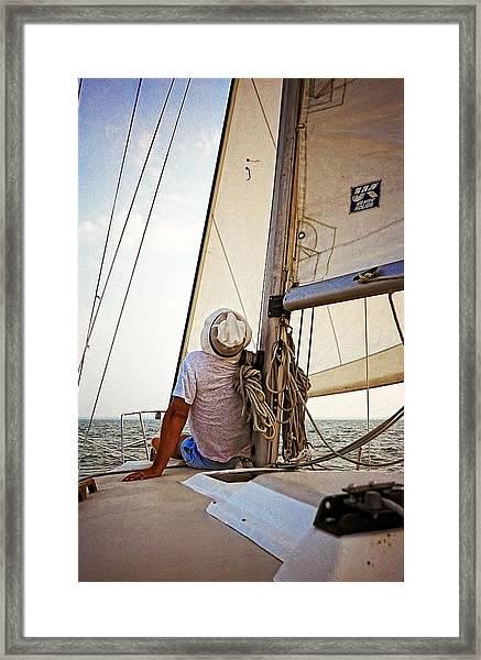 Summer On Lake Erie Framed Print