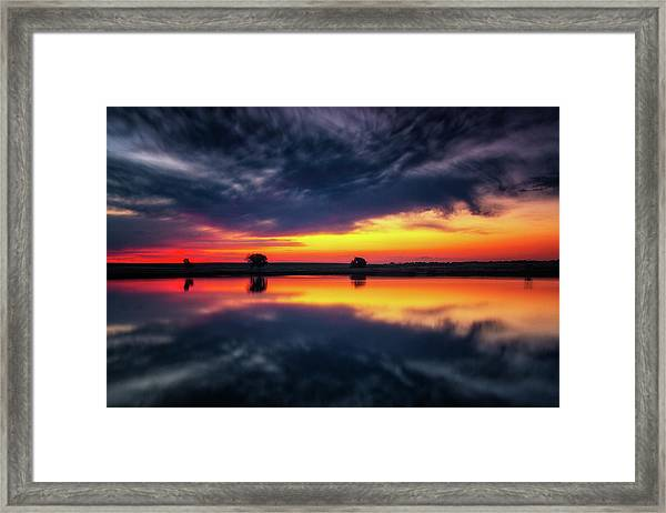 Framed Print featuring the photograph Summer Rises by John De Bord