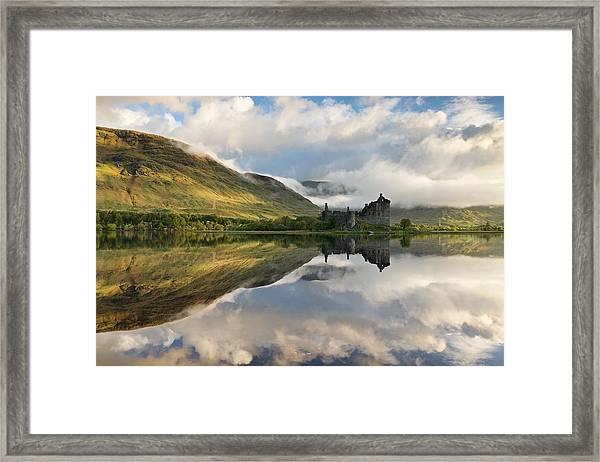 Summer Runrise At Loch Awe Framed Print