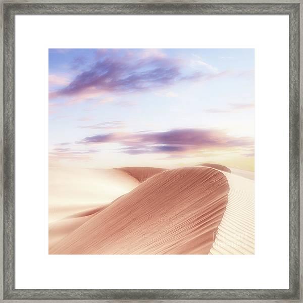 Summer Sands Framed Print