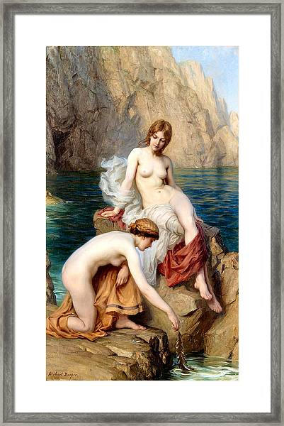 Summer Seas 1912 Framed Print