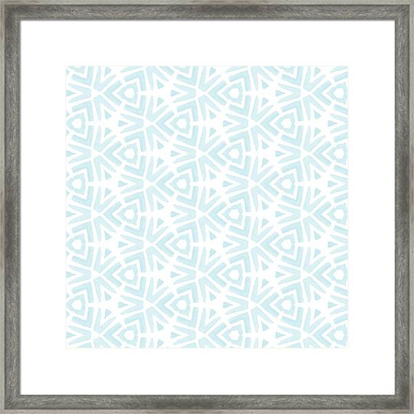 Summer Splash- Pattern Art By Linda Woods Framed Print