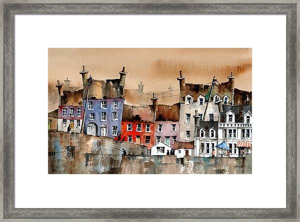 Cork... Summercove, Kinsale. Framed Print
