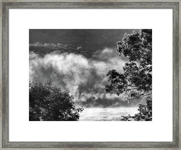 Summer's Leaving Framed Print