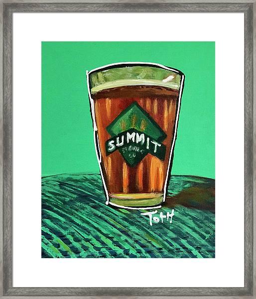 Summit 2 Framed Print