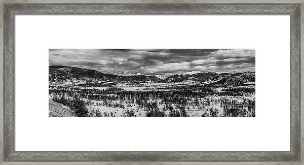 Summit County  Framed Print