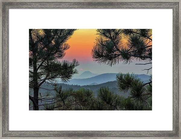 Sun Appears Framed Print