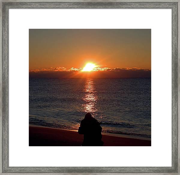 Sun Chasers I I I Framed Print