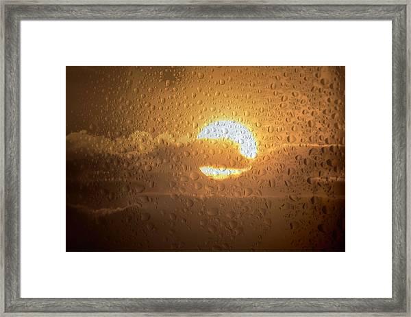 Sun Is Back Framed Print