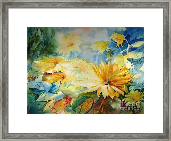Sun-kissed Framed Print
