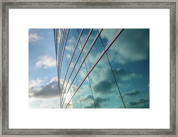 Sun Mirror Framed Print
